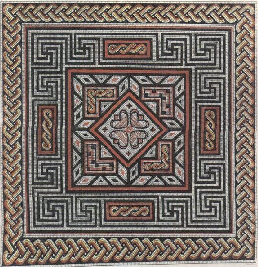 Peterborough history - Cotterstock Roman Mosaic