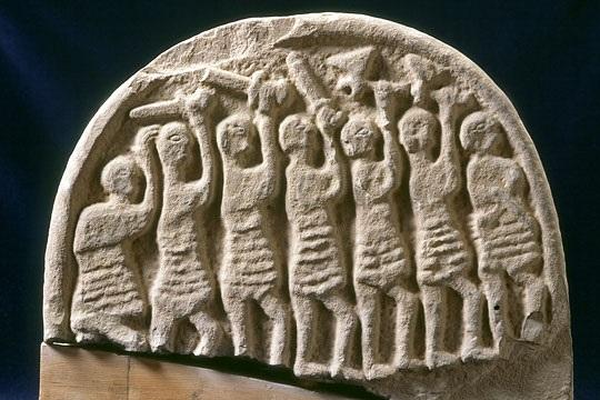 Viking grave marker