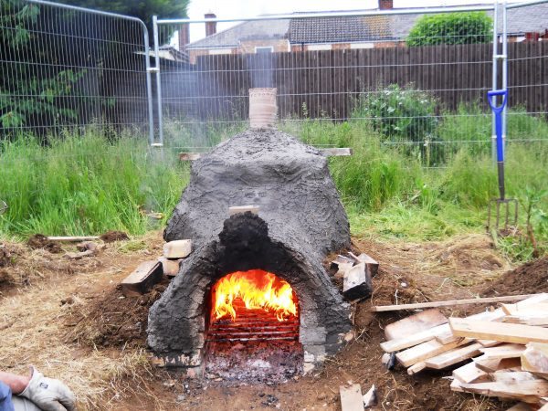 roman kiln - firing