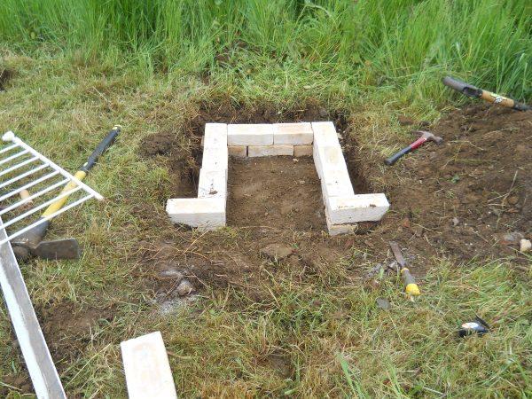roman kiln - firebox