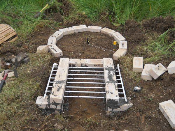 roman kiln - oven chamber