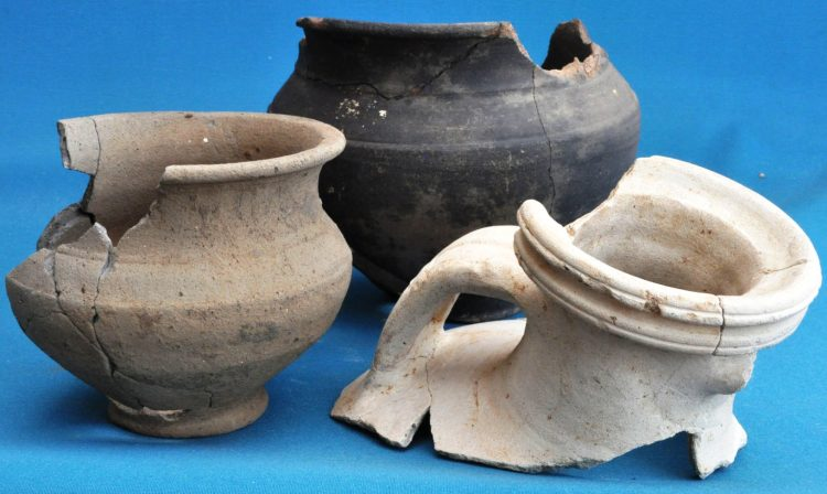 Roman pottery vessels