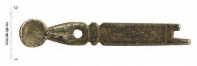 17th-century silver bodkin