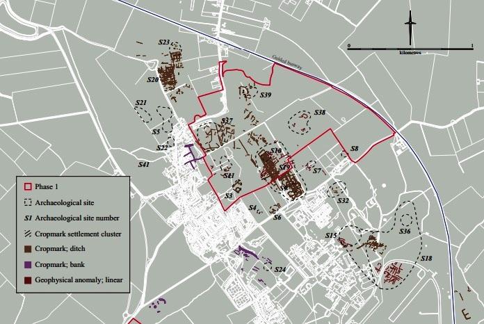 Northstowe Phase I - Target Sites