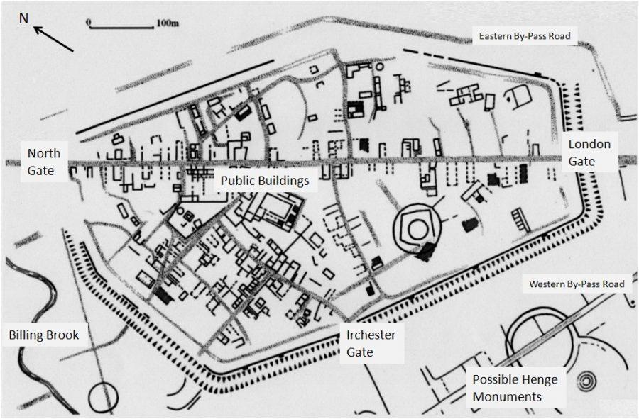 Durobrivae Town Plan