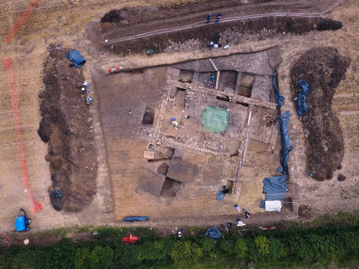 Nassington Roman Dig 26 Aug 2017