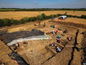 nassington roman barn excavation