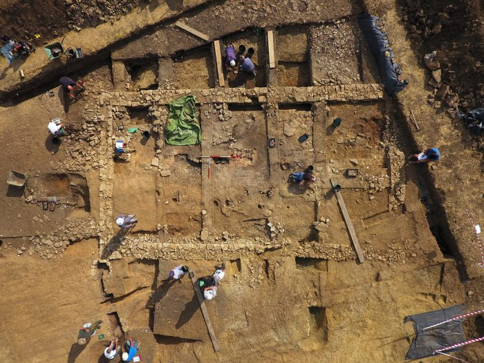 nassington excavation - 01 sept 2017
