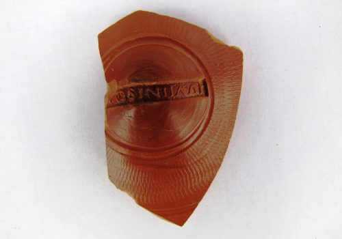 Nassington Dig Samian Ware 1 Sept 2017