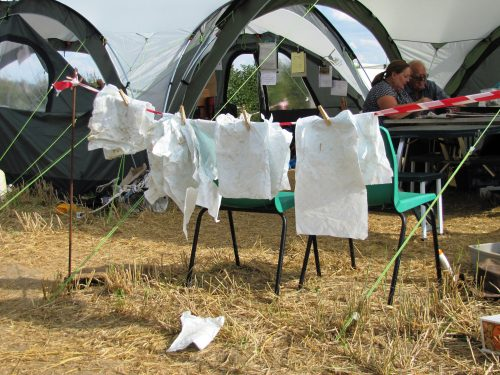 nassingto excavation finds washing line