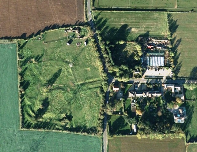 Torpel Manor Field - Google Earth