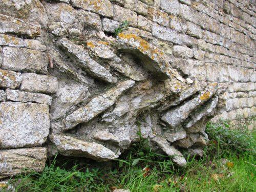 Castor Praetorium Foundations - Stock Hill Castor