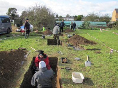Excavators and Visitors