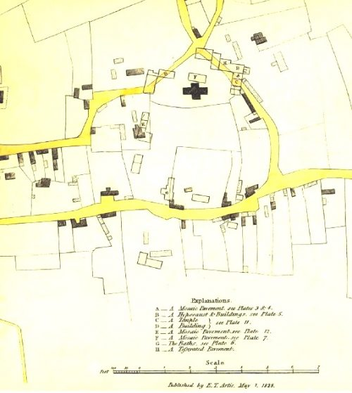 Plan of Castor - Edmund Artis