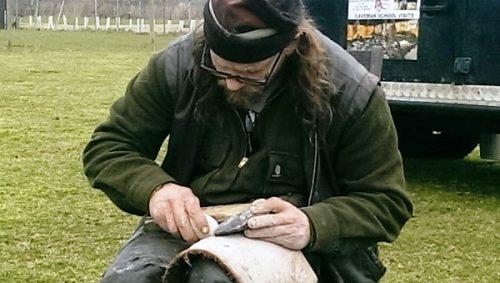 flint knapping workshop axe7