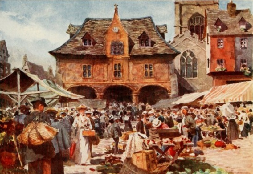 Peterborough Cathedral Square History