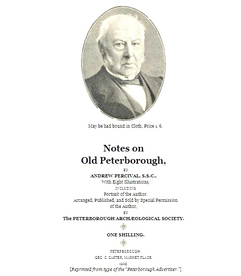 Notes on Old Peterborough
