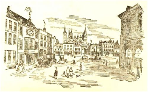 andrew percival - peterborough market square