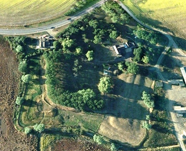 Horsey Hill Fort Aerial Photo