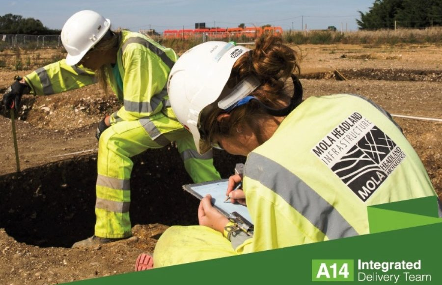 a14 archaeology community dig