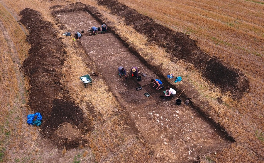 Nassington Excavation 2018