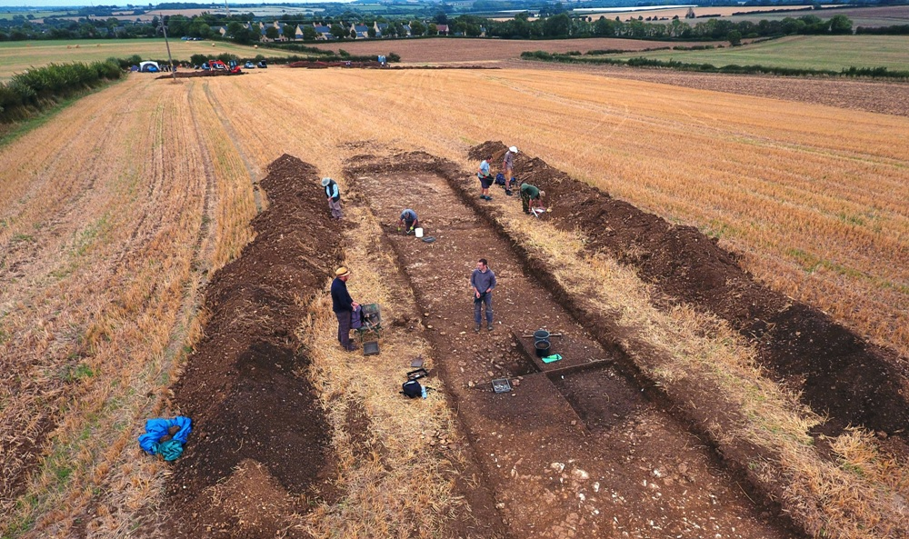 Nassington Excavation 23 Aug 2018