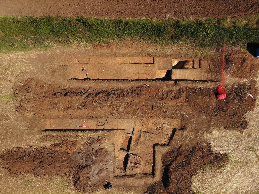 Nassington Roman Barn Excavation 2018