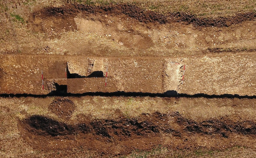 Nassington 2018 Trench 8