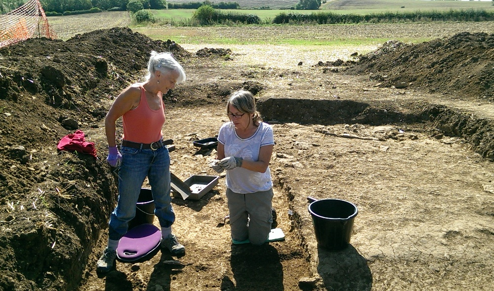 nassington dig - trench12 - 31aug2018