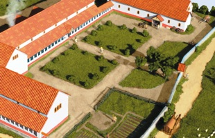 itter crescent roman villa