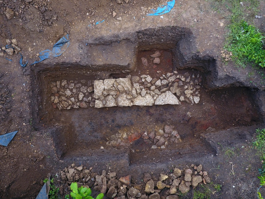 FRAG Excavation May 2019 Trench 1