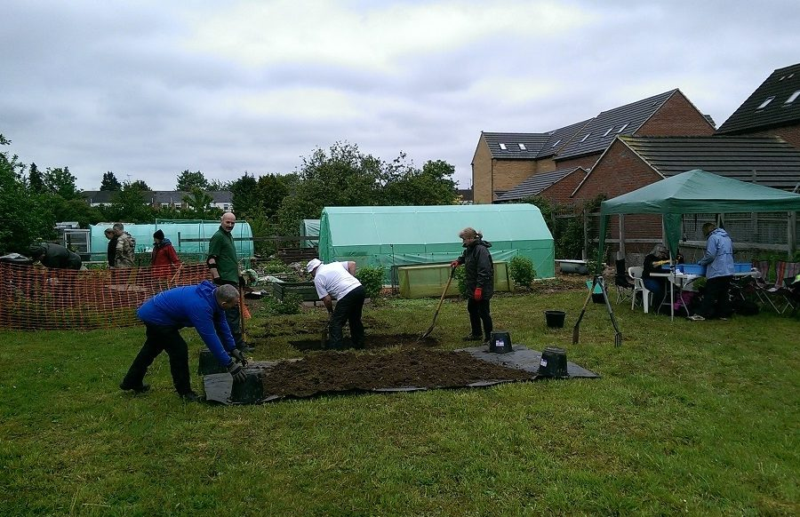 FRAG excavation - Fane Road Allotments May 2019