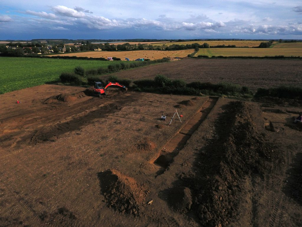 nassington excavation 2019 - final afternoon
