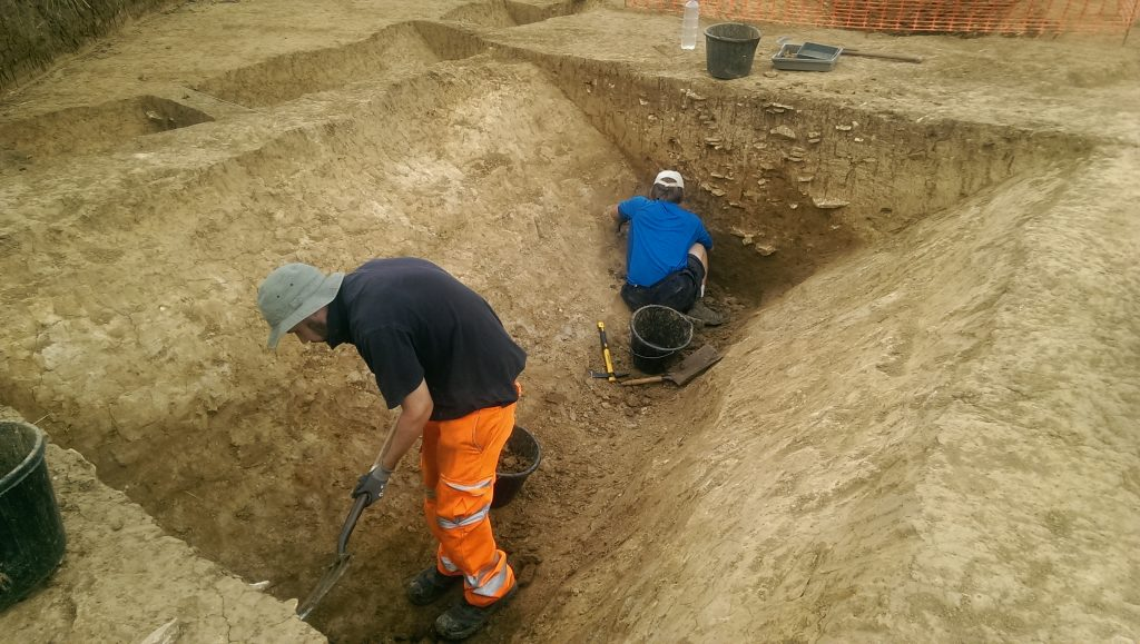 nassington 2019 trench 15