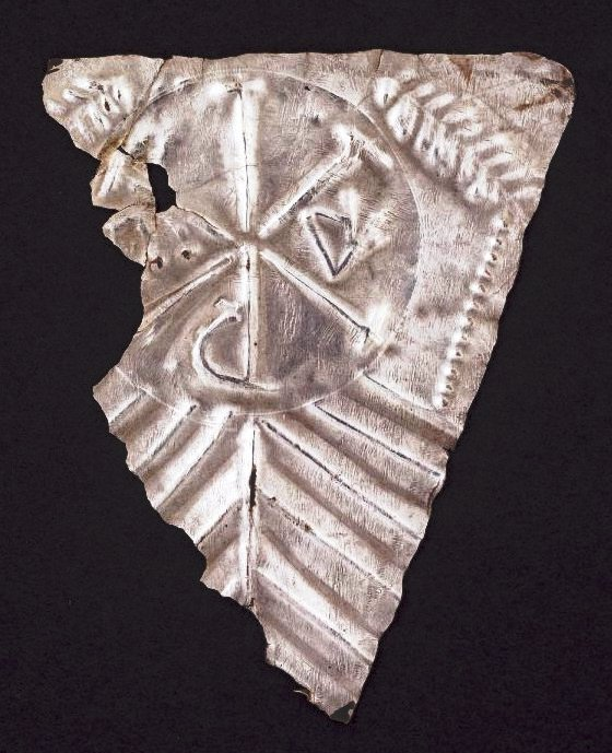 water newton hoard - plaque