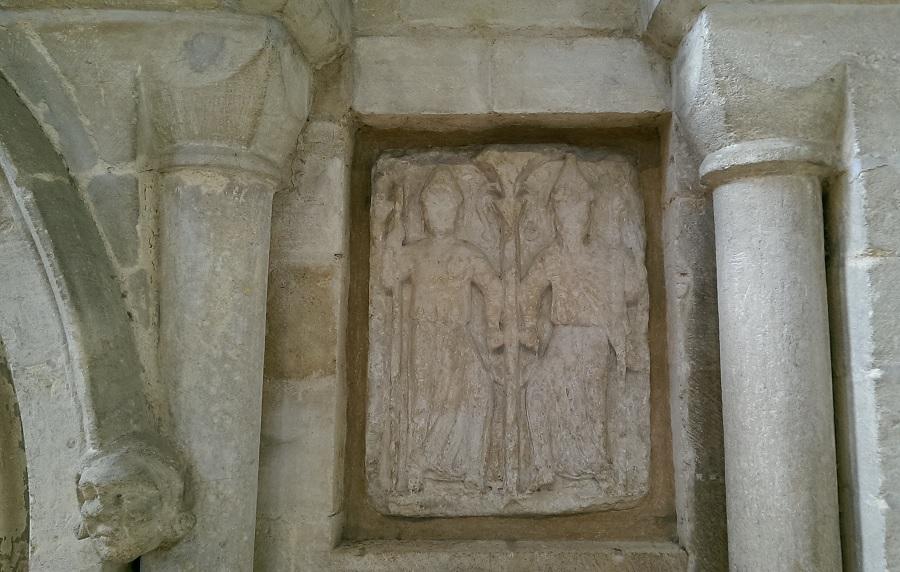 peterborough cathedral - roman deities dancing