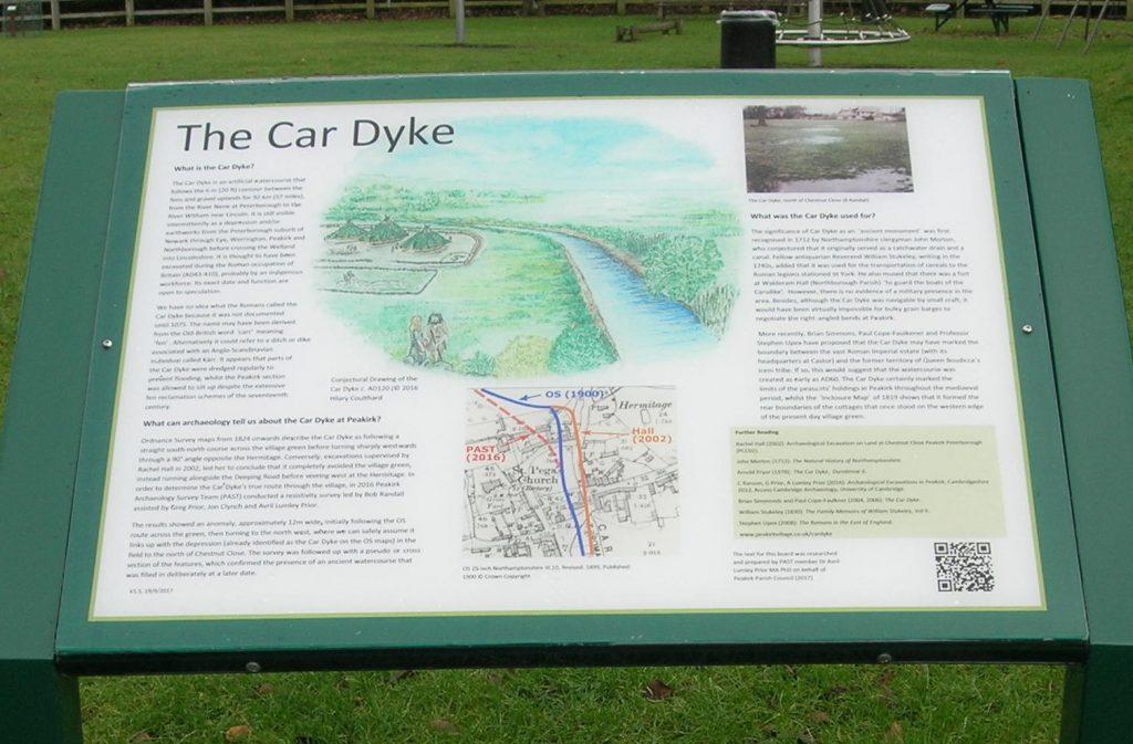 peakirk car dyke board