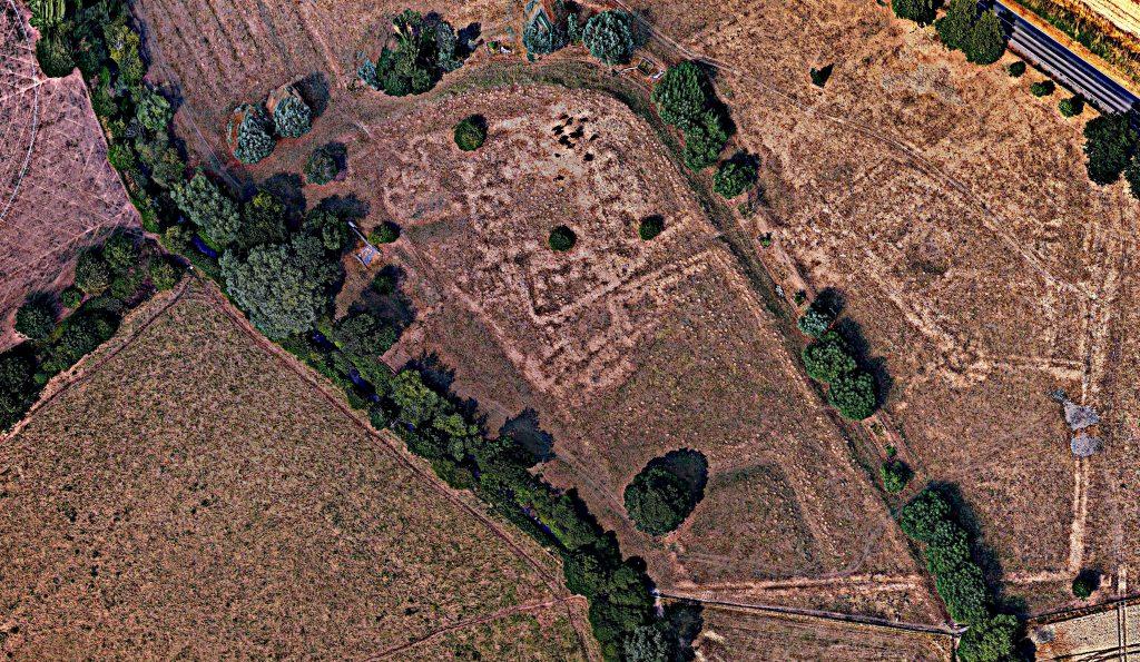 newstead priory aerial image
