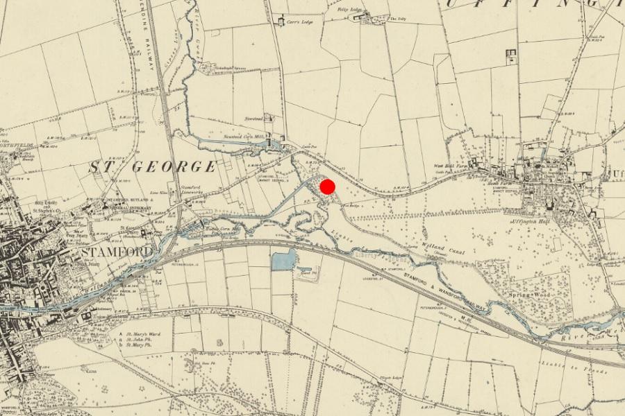 newstead map os 1886
