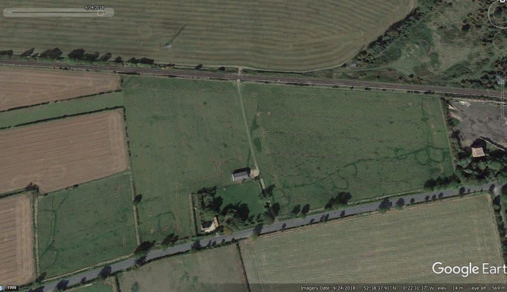 Bainton Crop Marks - Google