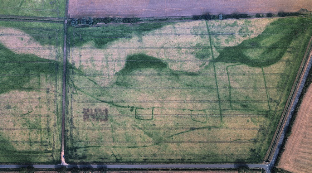 baston lincolnshire crop marks