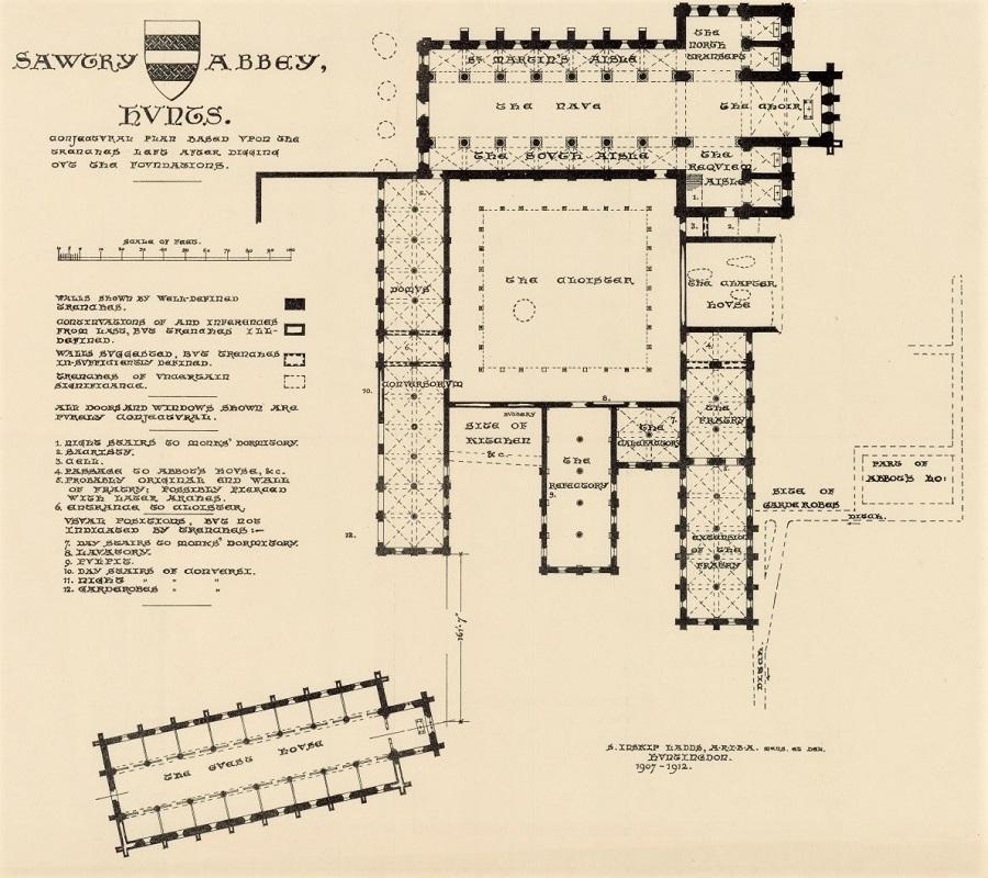 sawtry abbey - inskip ladds