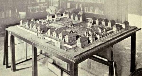 Model of Norman Cross Prison