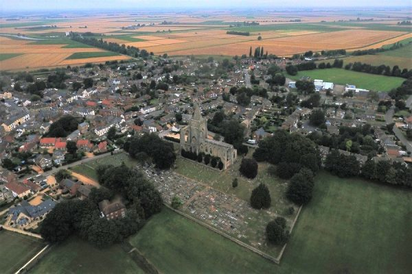 Crowland - Aerial View Looking North