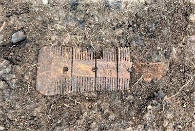 Anchor Church Field - Saxon Bone Comb